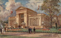 Canadian Pacific Pavilion at Wembley 1925