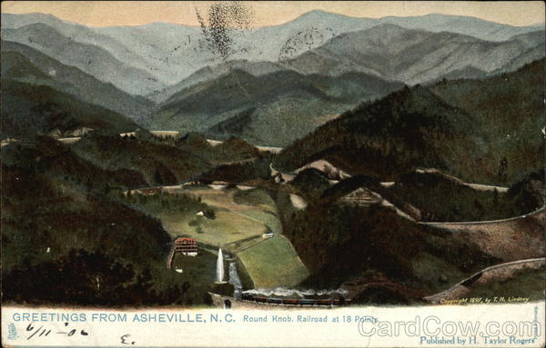 Round Knob Railroad at 18 points Asheville North Carolina