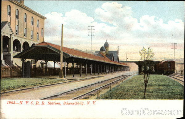NYCRR Station Schenectady New York