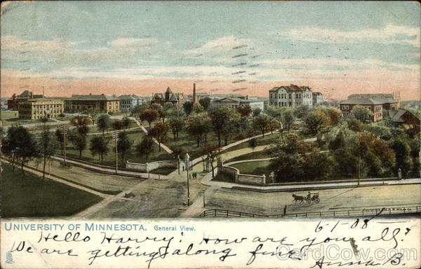 University of Minnesota, General View St. Paul