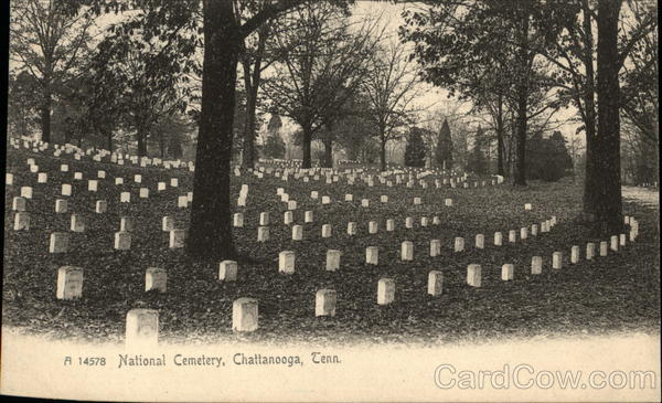 National Cemetery Chattanooga Tennessee