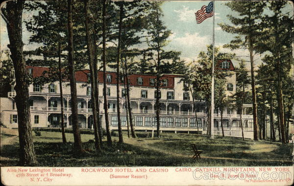 Rockwood Hotel and Casino, Catskill Mountains, Summer Resort Cairo New York