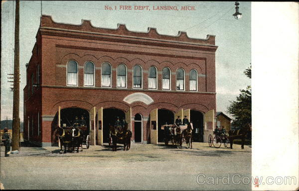 No. 1 Fire Dept Lansing Michigan