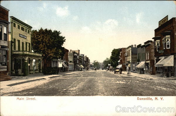 Main Street Dansville New York