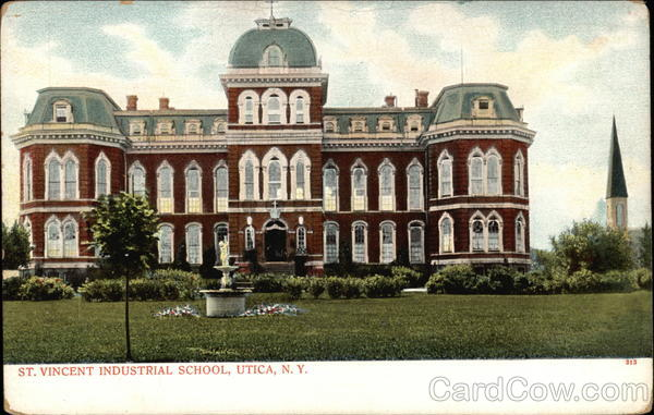 St. Vincent Industrial School Utica New York