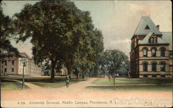 University Grounds, Middle Campus Providence Rhode Island