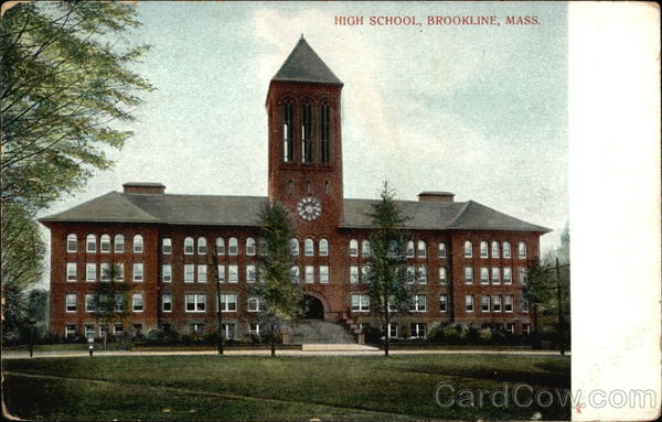 High School Brookline Massachusetts
