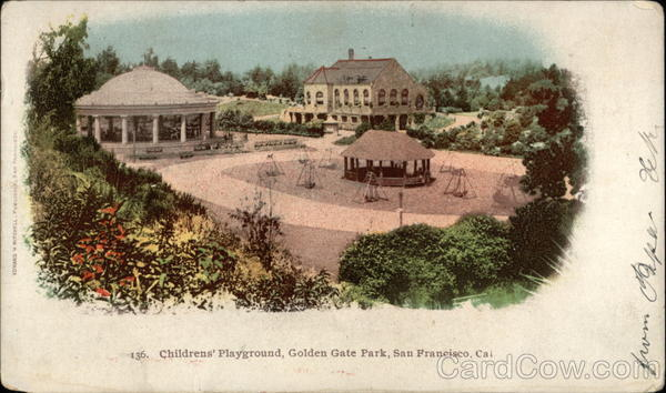 Children's Playground, Golden Gate Park San Francisco California