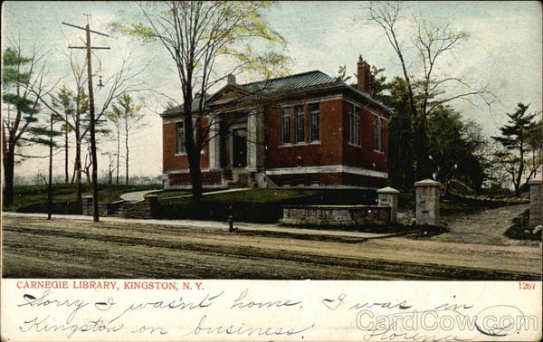Carnegie Library Kingston New York