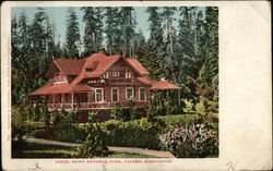 Lodge, Point Defiance Park