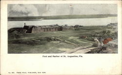 Fort and Harbor of St. Augustine, Fla