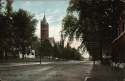 Town Hall, Elm St. looking south