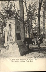 Mich. State Monument to the 21st Inft, Chickamauga National Park