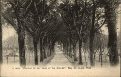 """Avenue to our Lady of the Woods"", Bay"