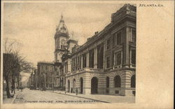 Court House and Spryor Street