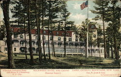 Rockwood Hotel and Casino, Catskill Mountains, Summer Resort Postcard