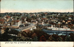 Bird's Eye View of Catskill, N.Y