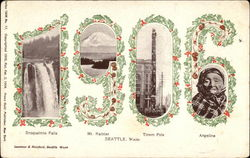 1906 Views of Seattle
