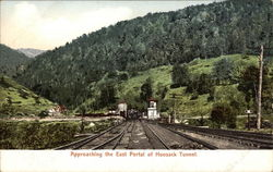 Approaching the East Portal of Hoosack Tunnel