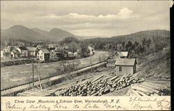 Three Sister Mountains & Schroon River