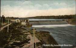 Sebasticook Power Dam