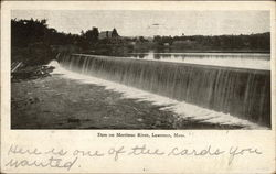 Dam on Merrimac River