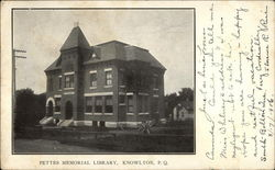 Pettes Memorial Library Postcard