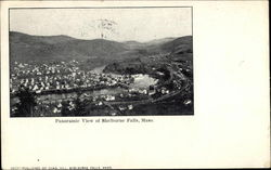 Panoramic View of Shelburne Falls, Mass