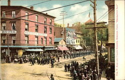 Corner W. Main and Colony Streets, Decoration Day
