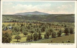 New England Views on Boston & Maine, RR; from Beech Hill