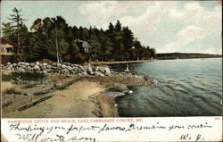 Hammonds Grove and Beach Lake, Lake Cobbossee