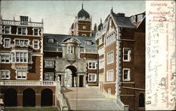 University of Pennsylvania, Entrance to Dormitories