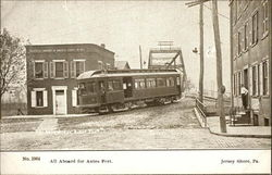 All aboard for Antes Fort Postcard