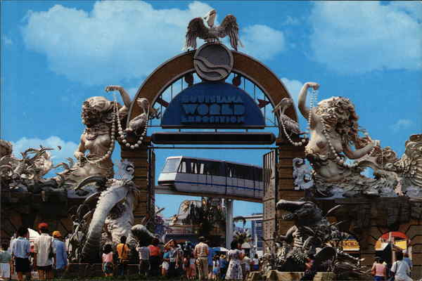 1984 Louisiana World Exposition New Orleans
