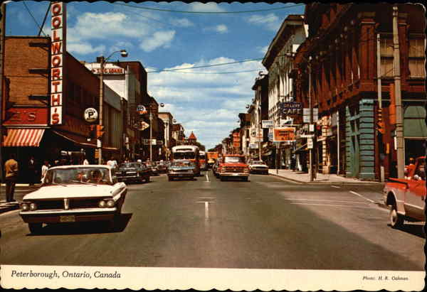 Main Business Section Peterborough Canada Ontario