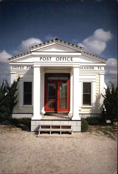 The Seaside Post Office Florida
