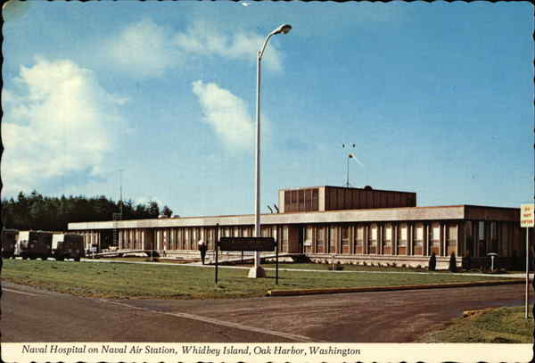 Naval Hospital on Naval Air Station, Whidbey Island, Oak ...