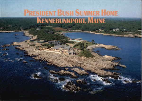 President George Walker Bush S Summer Home At Walker S