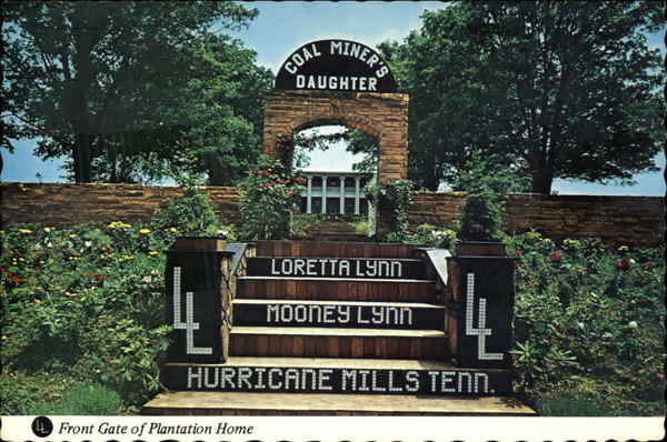 Loretta Lynn S Dude Ranch Front Gate Of Plantation Home