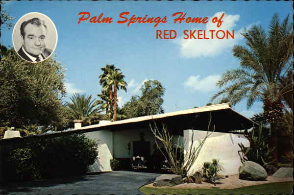 Home of Red Skelton Palm Springs California