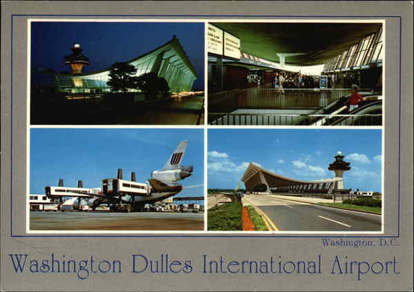 Washington Dulles International Airport District of Columbia