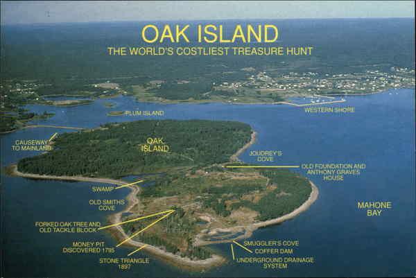Oak Island Treasure Island Coutry