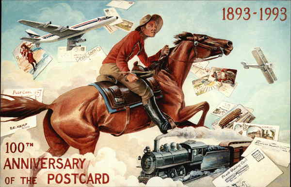 100th Anniversary of the Postcard Post Card Clubs & Collecting