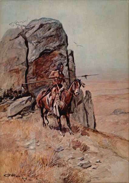 The Outpost by Charles Marion Russell