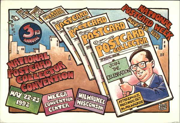 1992 National Postcard Collector Convention Milwaukee Wisconsin