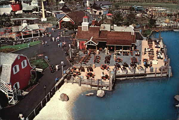 Great America - A View From the Sky Ride Amusement Parks
