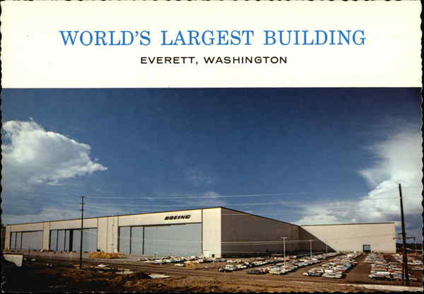 World's Largest Building Everett, Washington