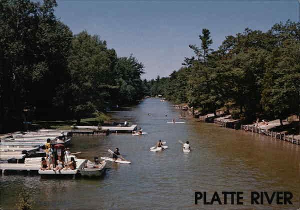 Platte river honor mi for Platte river michigan fishing