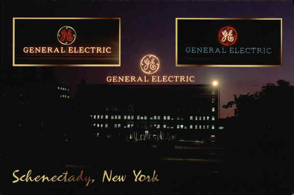 The GE Sign Schenectady New York