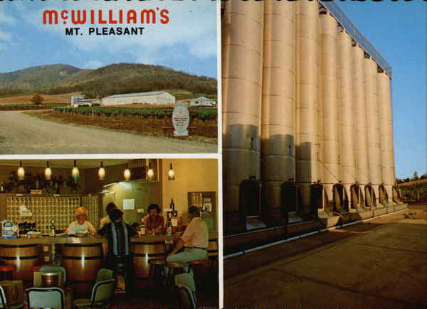 McWilliams Mt. Pleasant Winery & Vineyard Cessnock Australia